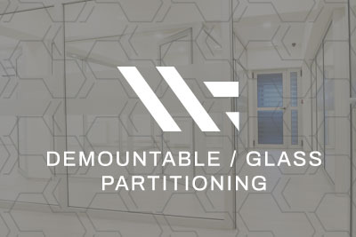 Demountable / Glass Partitioning