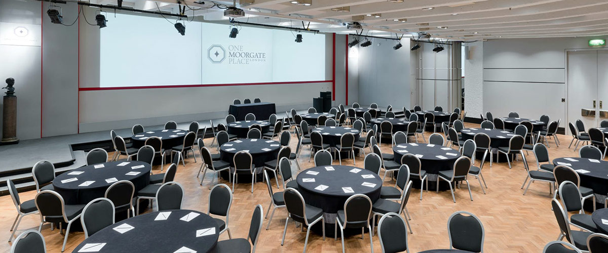 One Moorgate Place, Great Hall